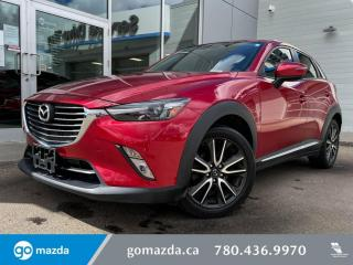 Used 2017 Mazda CX-3 GT - AWD, REMOTE START, LEATHER, HEATED SEATS, BLUETOOTH, AND MORE for sale in Edmonton, AB