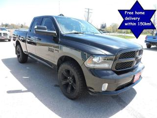 Used 2017 RAM 1500 Sport Night Edition Hemi 4X4 8 speed 96000 km for sale in Gorrie, ON