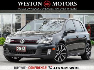 Used 2013 Volkswagen Golf 2.0L*AUTO*SUNROOF*HEATED SEATS *GTI* for sale in Toronto, ON
