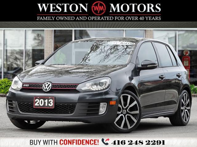 2013 Volkswagen Golf 2.0L*AUTO*SUNROOF*HEATED SEATS *GTI*