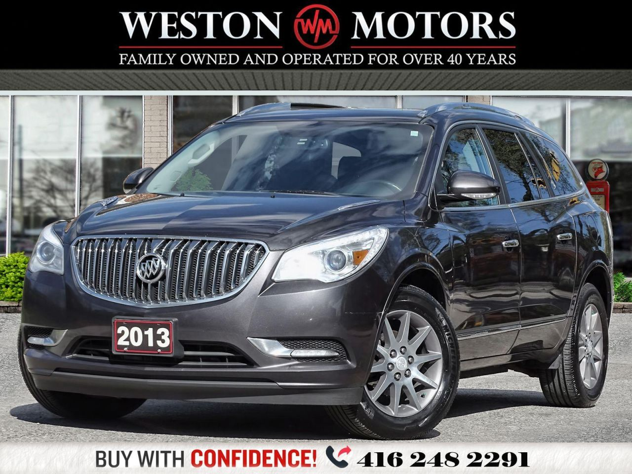2013 Buick Enclave 3.6L*AWD*LEATHER*SUNROOF*NAVIGATION*FULLY LOADED