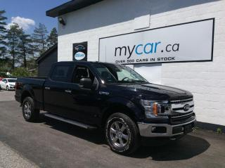 Used 2018 Ford F-150 XLT XTR, NAV, PWR SEAT, CHROMES, BOARDS, LOW KM, WOW!! for sale in Richmond, ON