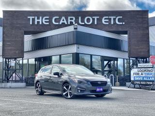 Used 2018 Subaru Impreza Sport-tech AWD!! LEATHER SUNROOF!! NAVIGATION!! BACK-UP CAM!! HEATED STEERING WHEEL!! for sale in Sudbury, ON