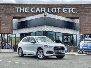 Used 2018 Audi Q5 2.0T Komfort AWD!! LEATHER!! BACK-UP CAM!! HEATED STEERING WHEEL!! HEATED SEATS!! for sale in Sudbury, ON