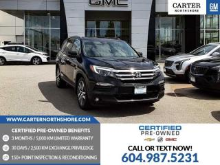Used 2018 Honda Pilot Touring NAVIGATION - MOONROOF - MEMORY SEAT for sale in North Vancouver, BC