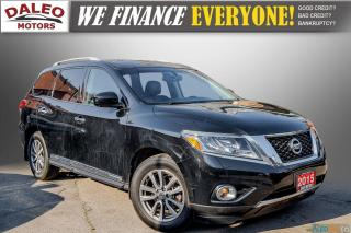 Used 2015 Nissan Pathfinder SL / 7 PASSENGERS / LEATHER / PANO ROOF / LOW KMS for sale in Hamilton, ON