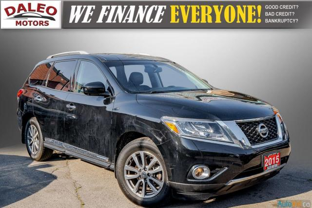 2015 Nissan Pathfinder SL / 7 PASSENGERS / LEATHER / PANO ROOF / LOW KMS Photo1