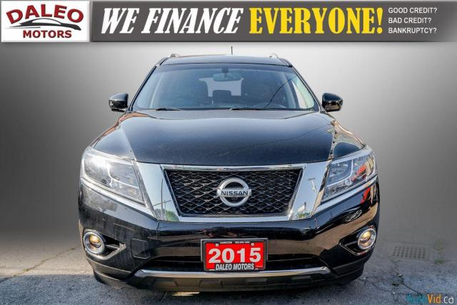 2015 Nissan Pathfinder SL / 7 PASSENGERS / LEATHER / PANO ROOF / LOW KMS Photo3
