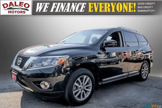 2015 Nissan Pathfinder SL / 7 PASSENGERS / LEATHER / PANO ROOF / LOW KMS Photo4