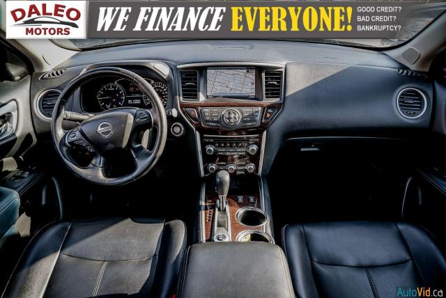 2015 Nissan Pathfinder SL / 7 PASSENGERS / LEATHER / PANO ROOF / LOW KMS Photo15