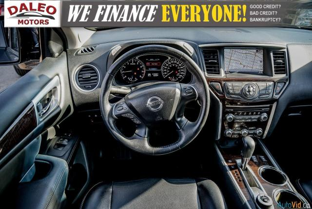 2015 Nissan Pathfinder SL / 7 PASSENGERS / LEATHER / PANO ROOF / LOW KMS Photo16
