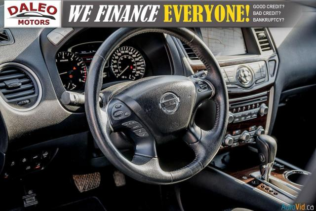 2015 Nissan Pathfinder SL / 7 PASSENGERS / LEATHER / PANO ROOF / LOW KMS Photo19