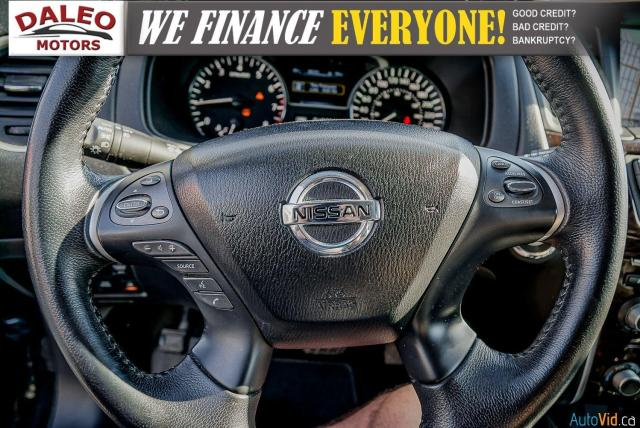 2015 Nissan Pathfinder SL / 7 PASSENGERS / LEATHER / PANO ROOF / LOW KMS Photo21