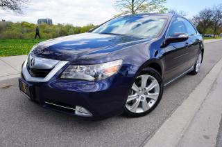 Used 2010 Acura RL RARE / ELITE PACKAGE / DEALER SERVICED / LOCAL CAR for sale in Etobicoke, ON