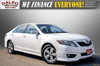 Used 2010 Toyota Camry SE / LEATHER / MOONROOF / POWER SEATS / LOW KMS for sale in Hamilton, ON