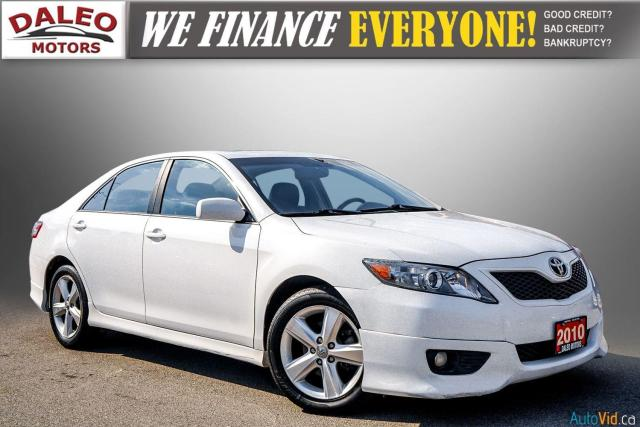 2010 Toyota Camry SE / LEATHER / MOONROOF / POWER SEATS / LOW KMS