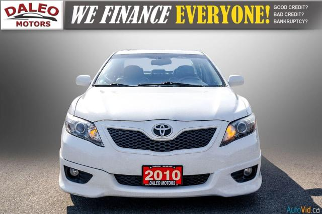 2010 Toyota Camry SE / LEATHER / MOONROOF / POWER SEATS / LOW KMS Photo3