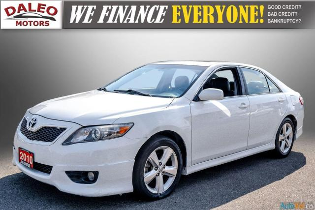 2010 Toyota Camry SE / LEATHER / MOONROOF / POWER SEATS / LOW KMS Photo4