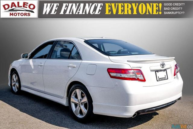 2010 Toyota Camry SE / LEATHER / MOONROOF / POWER SEATS / LOW KMS Photo6