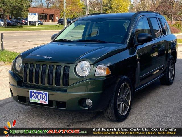 2009 Jeep Compass North|ONE OWNER|LOW KM|NO ACCIDENT|AWD|CERTIFIED
