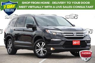 Used 2017 Honda Pilot EX-L Navi LEATHER | MOONROOF | NAVIGATION for sale in Kitchener, ON
