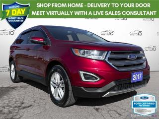 Used 2017 Ford Edge SEL AWD Leather/Navi/Roof/18 Wheels for sale in St Thomas, ON