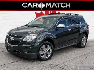 Used 2014 Chevrolet Equinox LT / AUTO / CHROME WHEELS / 85,107 KM for sale in Cambridge, ON