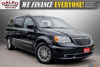 Used 2014 Chrysler Town & Country TOURING / LEATHER / BACK UP CAM / REMOTE START / for sale in Hamilton, ON