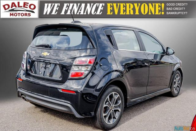 2017 Chevrolet Sonic LT/ REMOTE START / BACKUP CAM / MOONROOF / LOW KMS Photo8
