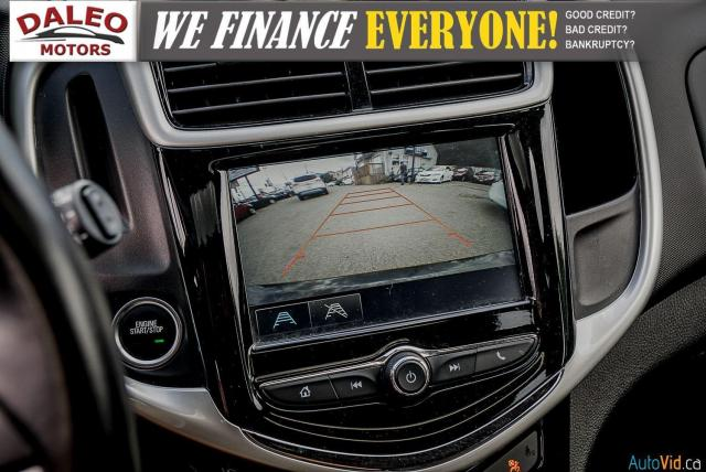 2017 Chevrolet Sonic LT/ REMOTE START / BACKUP CAM / MOONROOF / LOW KMS Photo23