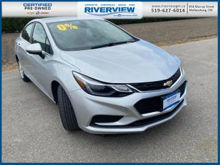 Used 2018 Chevrolet Cruze LT Auto One Owner | No Accidents | Manufacture Warranty for sale in Wallaceburg, ON