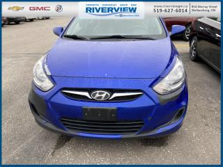 Used 2012 Hyundai Accent Cloth Seating | Cruise Control | CD Player for sale in Wallaceburg, ON