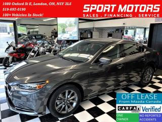 Used 2018 Mazda MAZDA6 GS+Camera+Heated Seats+Push Start+CLEAN CARFAX for sale in London, ON