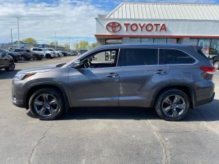 Used 2017 Toyota Highlander Hybrid Hybrid Limited for sale in Cambridge, ON