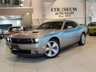 Used 2016 Dodge Challenger R/T- 5.7L V8 HEMI-NAVI-LEATHER/SUEDE-SUNROOF-74KM for sale in Toronto, ON