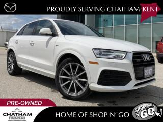 Used 2017 Audi Q3 2.0T Progressiv for sale in Chatham, ON