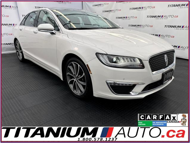 2018 Lincoln MKZ Reserve+Hybird+GPS+Pano Roof+Massage Cooled Seats