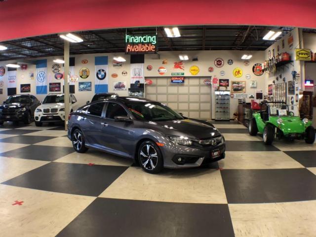 2017 Honda Civic Sedan TOURING AUT0 NAVI LEATHER SUNROOF CAMERA 89K