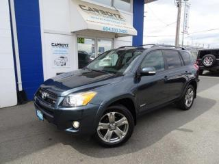 Used 2011 Toyota RAV4 Sport 4WD V6, Heated Leather, Sunroof, Bluetooth for sale in Langley, BC