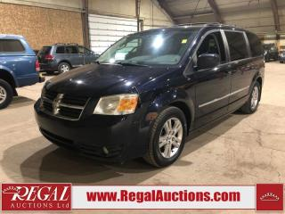 Used 2010 Dodge Grand Caravan SXT 4D Wagon for sale in Calgary, AB