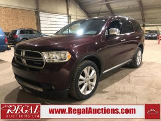Used 2012 Dodge Durango 4D Utility for sale in Calgary, AB