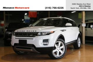 Used 2014 Land Rover Range Rover Evoque PURE PLUS - PANORAMIC SUNROOF|BACKUP|MERIDIAN for sale in North York, ON