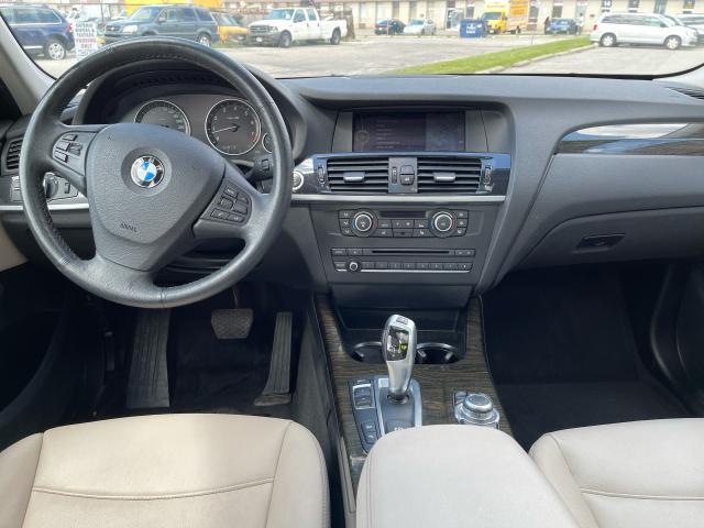 2013 BMW X3 28i AWD NAVIGATION/PANO ROOF/HEADS UP DISPLAY Photo10