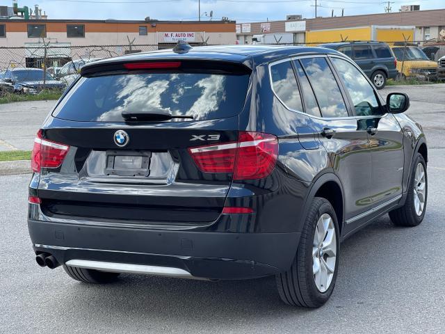 2013 BMW X3 28i AWD NAVIGATION/PANO ROOF/HEADS UP DISPLAY Photo5