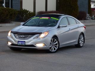 Used 2013 Hyundai Sonata NAVIGATION,BACKUPCAM,LEATHER,CERTIFIED,FULL OPTION for sale in Mississauga, ON