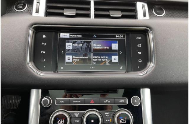 2016 Land Rover Range Rover Sport Td6 HSE Navigation /Sunroof /Camera Photo12