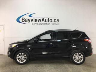 Used 2018 Ford Escape - SYNC! REVERSE CAM! ALLOYS! ONLY 40,000KMS! for sale in Belleville, ON