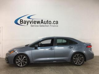 Used 2020 Toyota Corolla SE - AUTO! SUNROOF! + MUCH MORE! for sale in Belleville, ON