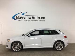 Used 2018 Audi A3 e-tron 1.4T Progressiv - HYBRID! HTD LEATHER! NAV! SUNROOF! LOADED! for sale in Belleville, ON