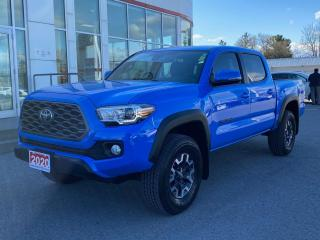 Used 2020 Toyota Tacoma TRD OFF ROAD PREMIUM-LEATHER+MORE! for sale in Cobourg, ON